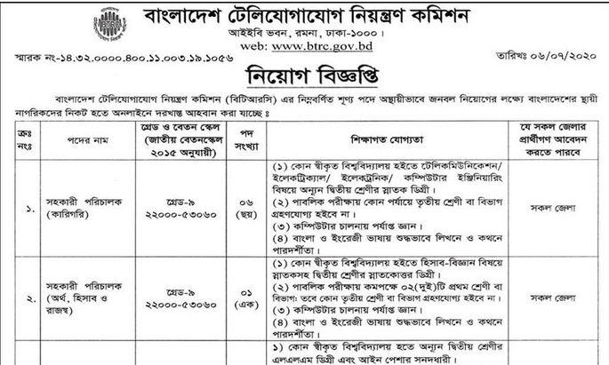 Bangladesh Telecommunication Regulatory Commission BTRC ...